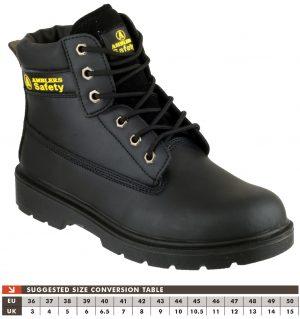 Amblers Safety Boots FS112 (Black)