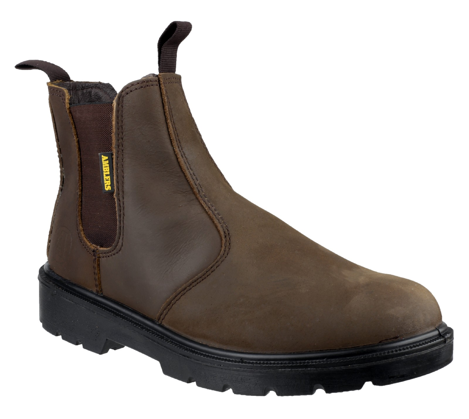 Amblers Safety FS128 Brown - Chaussures Boot