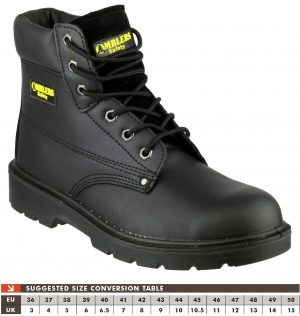 Amblers Safety Boots FS159 (Black)