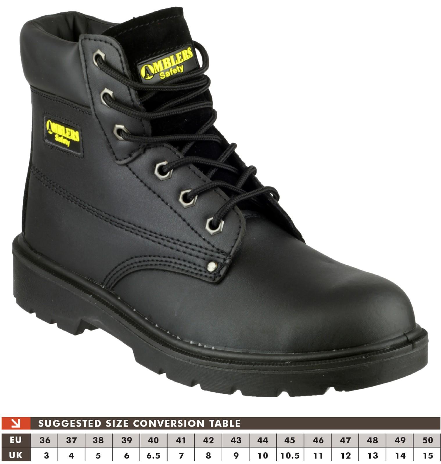 Amblers Safety FS159 Black - Chaussures Bottine