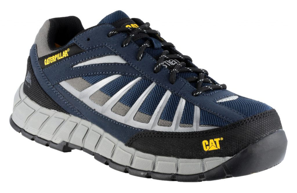Caterpillar Infrastructure Safety Shoes Navy Safety