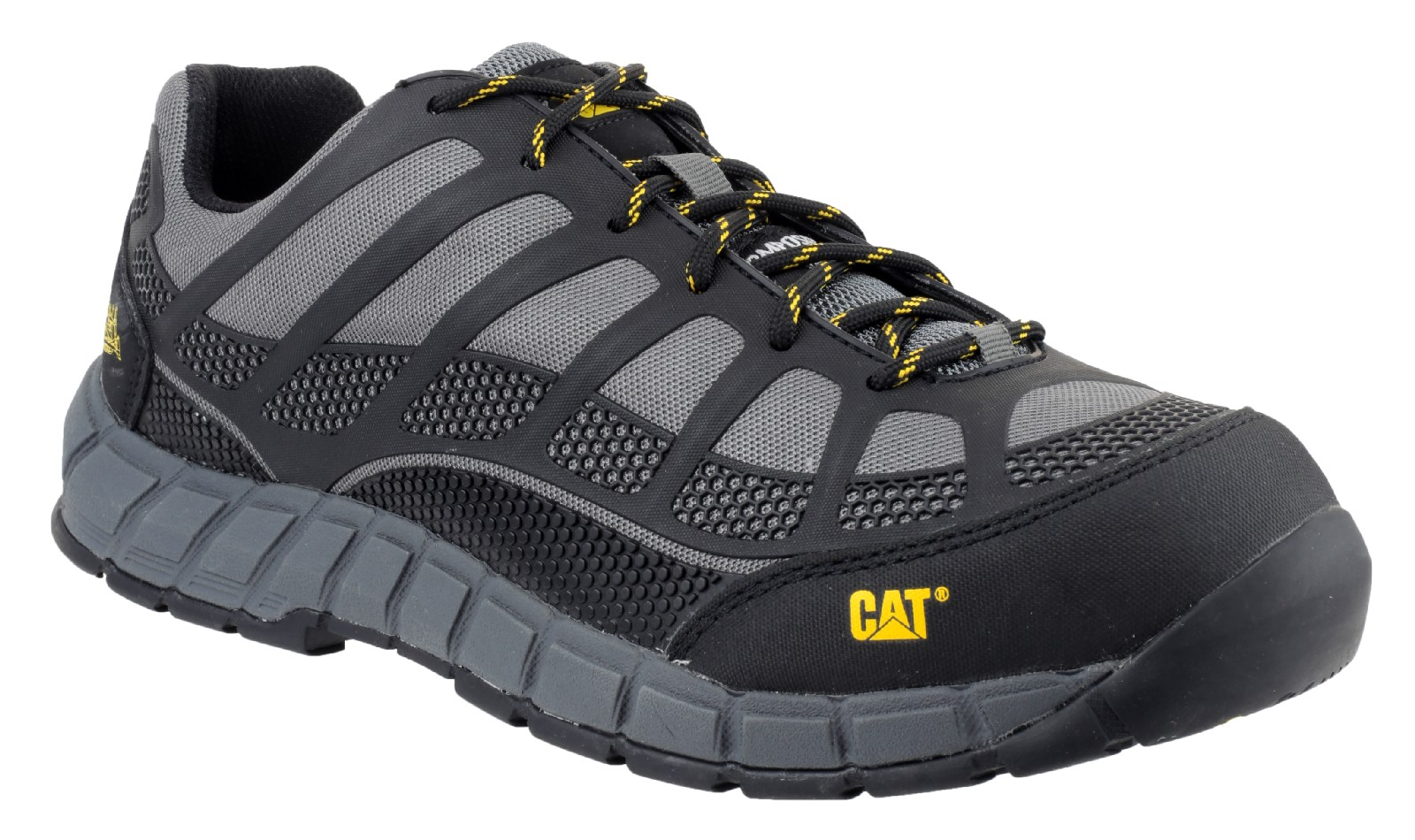 aeaf806d10 Caterpillar Streamline Safety Shoes (Charcoal) - Safety Boots R Us