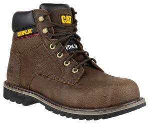 Caterpillar Safety Boots Electric Hi (Brown)