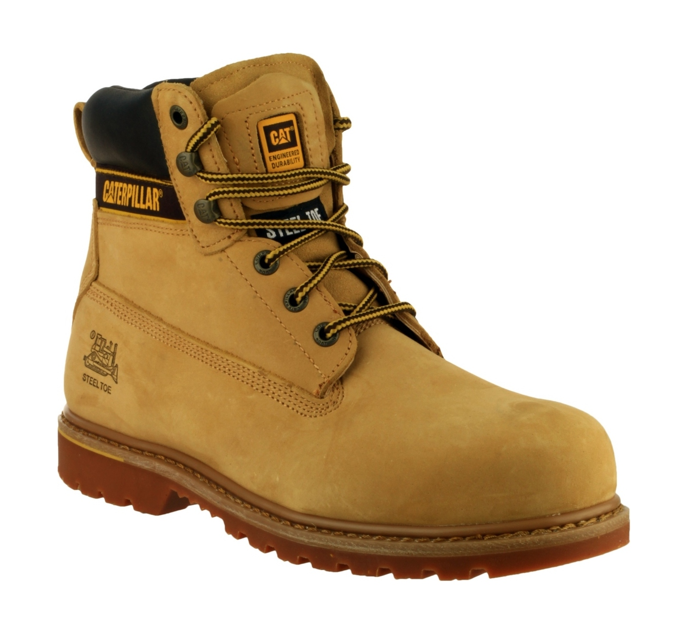 Caterpillar Safety Boots Holton S3 Honey Safety Boots R Us