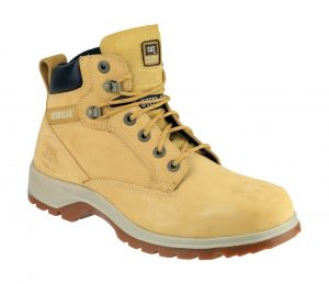 Caterpillar Safety Boots Kitson Women's (Honey). Honey Ladies Leather Boot.