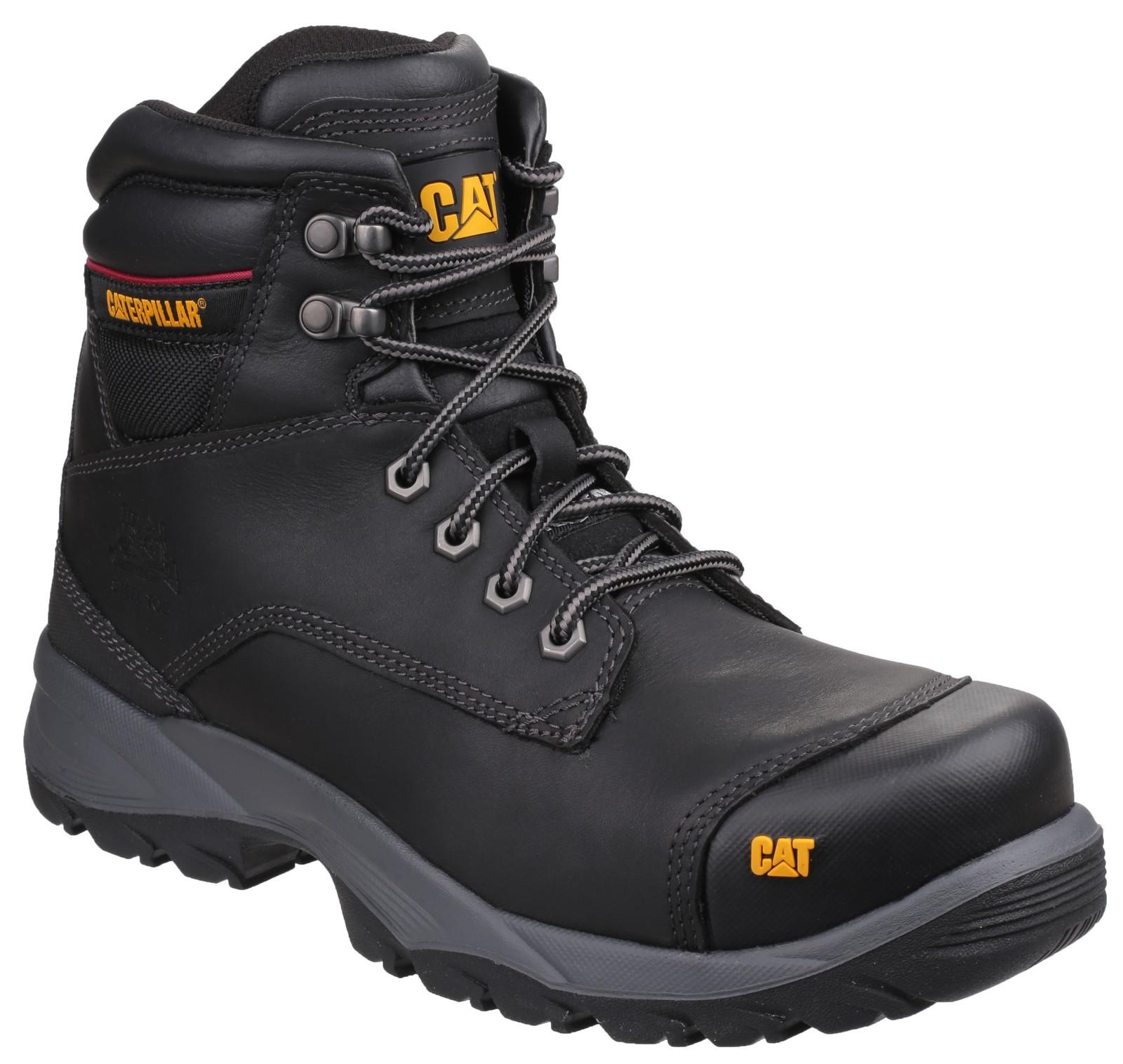 f91b9f6d23b Caterpillar Safety Boots Spiro (Black)