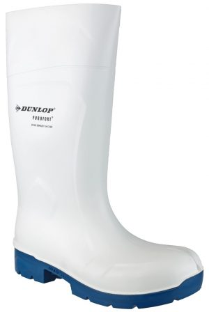 Dunlop Foodpro Multigrip Safety Wellingtons (White)