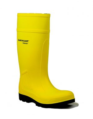 Dunlop Purofort Professional Yellow Full Safety Wellingtons