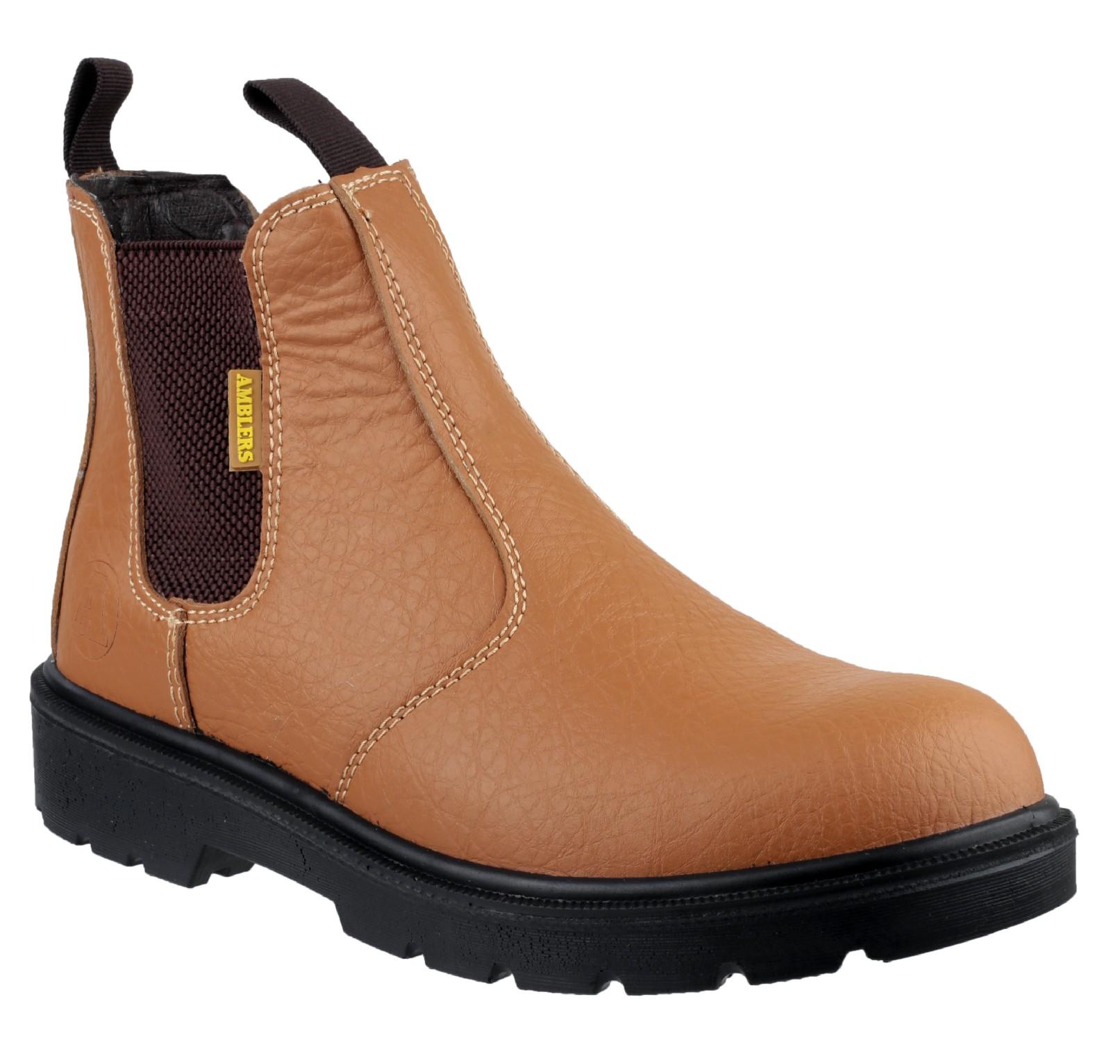 Amblers Steel Slip-On Lined Safety Footwear - Tan - Size 15 Ubicaciones de puntos de descuento Venta auténtica Envío gratuito 2018 Venta Popular NkAWr8