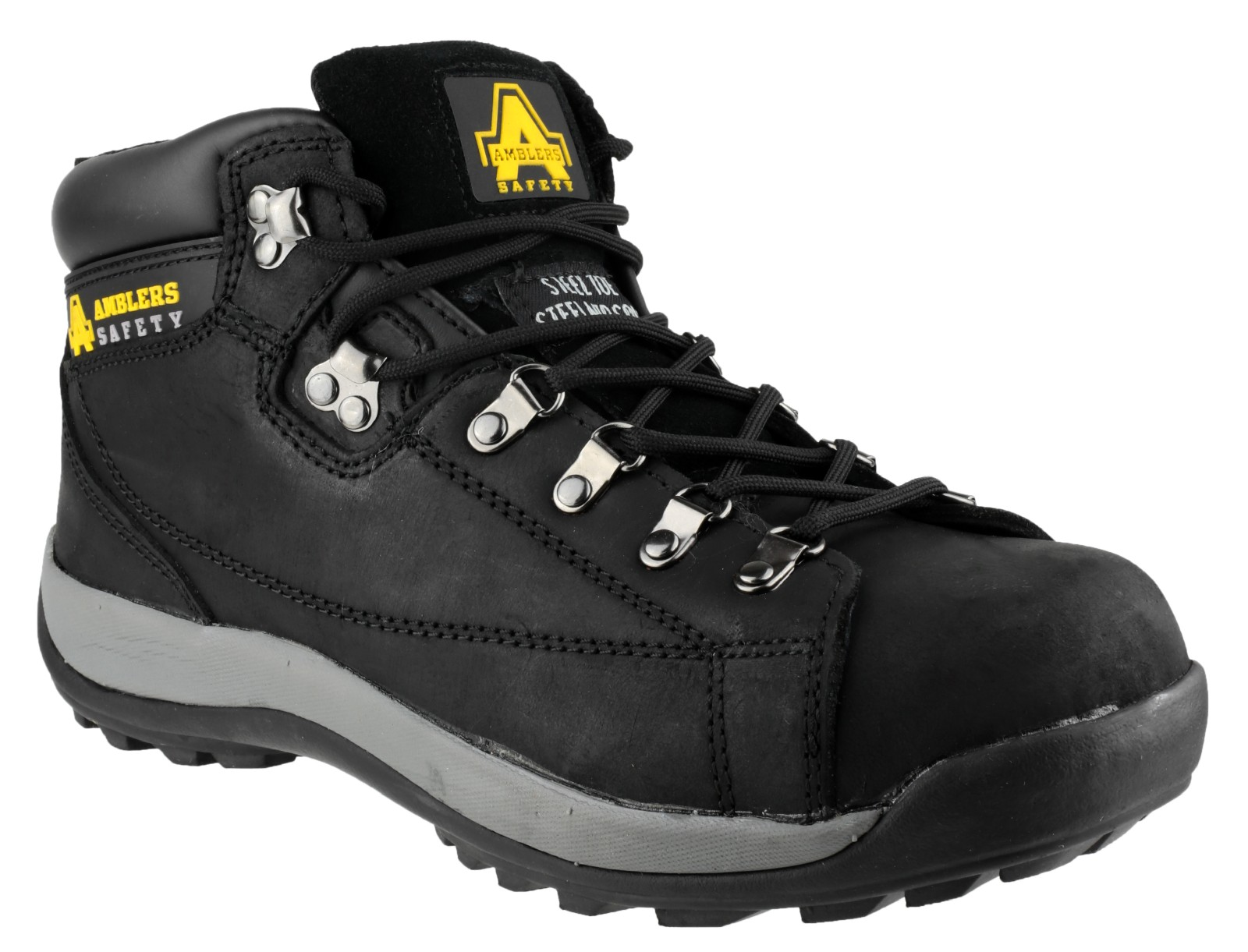 Amblers Safety FS123 Black - Chaussures Boot