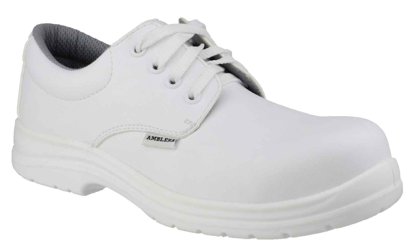 Amblers Safety FS511 Lace up shoe (White)