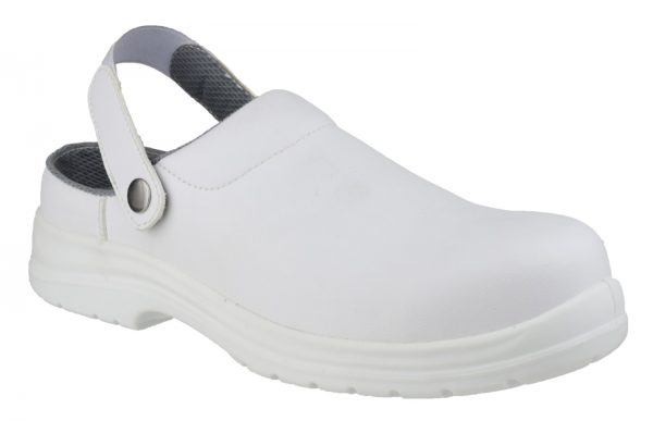 Amblers Safety FS512 Clog (White)