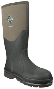 Muck Boot Chore Classic Safety Wellingtons (Green)