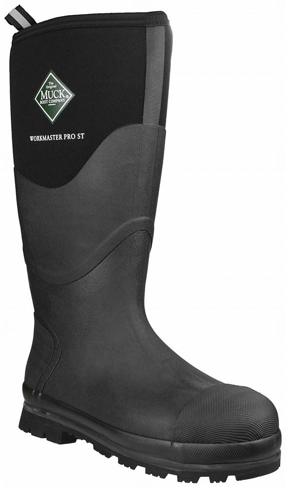 Muck Boot Workmaster Pro Hi Safety Wellingtons (Black) - Safety ...