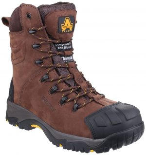 Amblers Safety Boots AS995 Pillar (Brown)